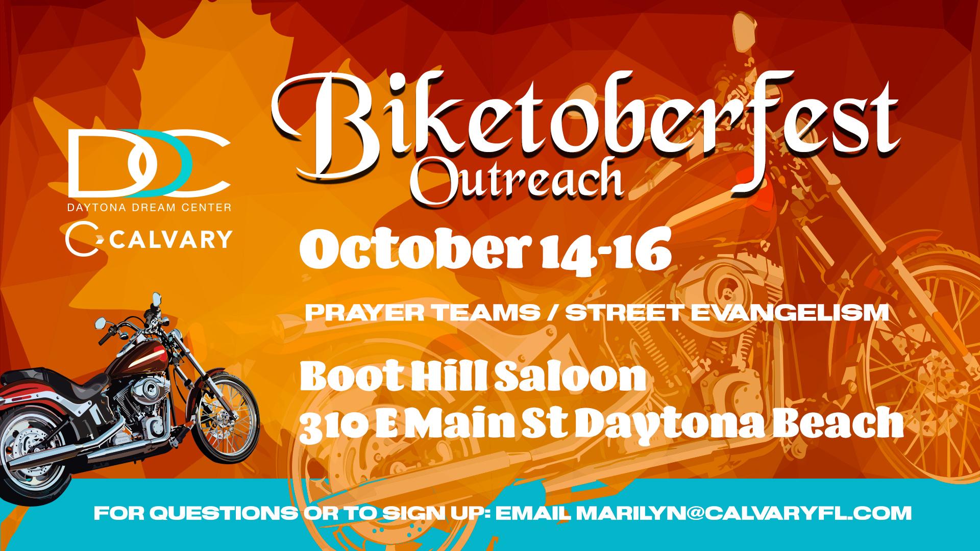 Biketoberfest - Daytona Dream Center - CalvaryFL