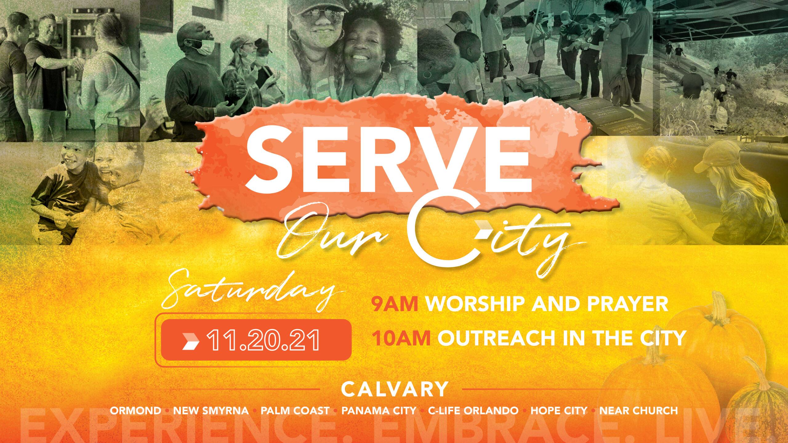 Serve Our City - CalvaryFL - Calvary Christian Center